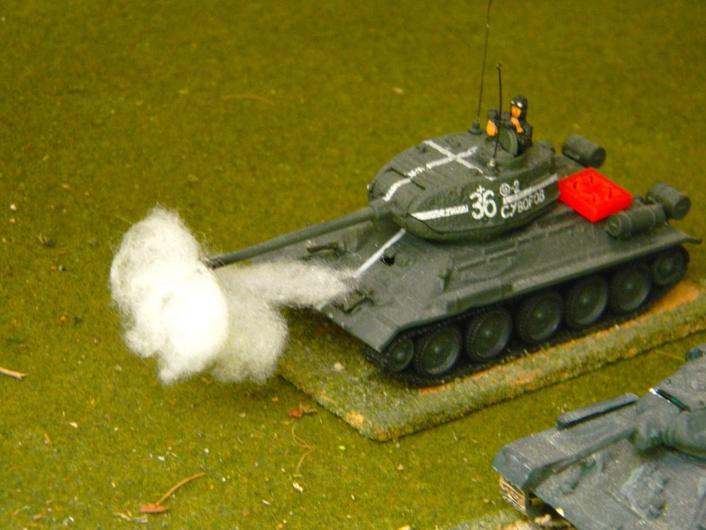 But not for long ! The Soviets target enemy armour...