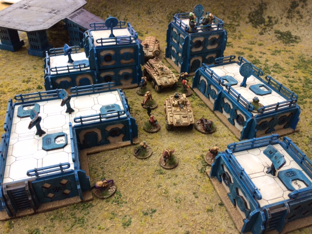 New Warbases Sci-Fi Terrain from Matt Slade