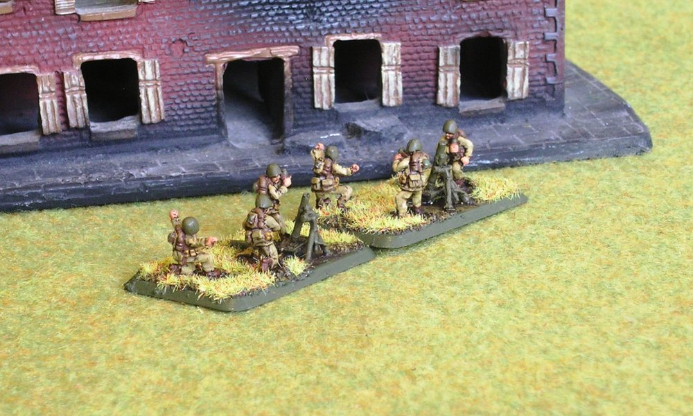 Mortar Platoon from HMG Company