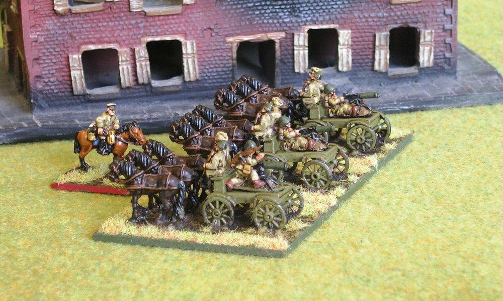Taczanka Platoon from HMG Company