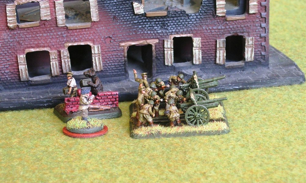 Infantry Gun Platoon (FOO, but no limbers)