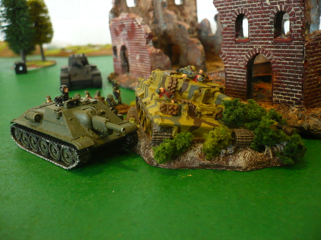 Soviet self-propelled guns are starting to tip the balance in their favour...it's turning into a war of attrition