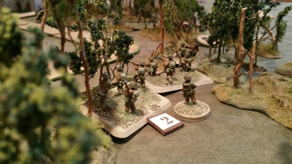 Germans Driven out of the Woods