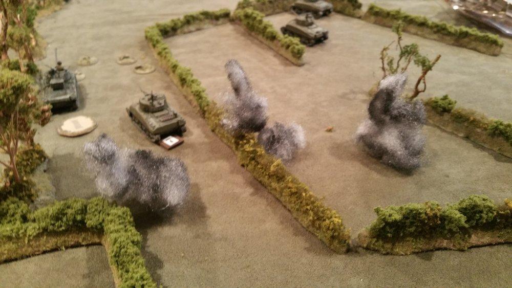 Mortars Finally Arrive