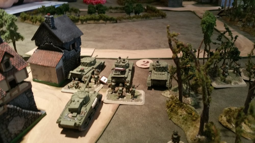 2nd Troop Pushes into...Panzerfaust Range