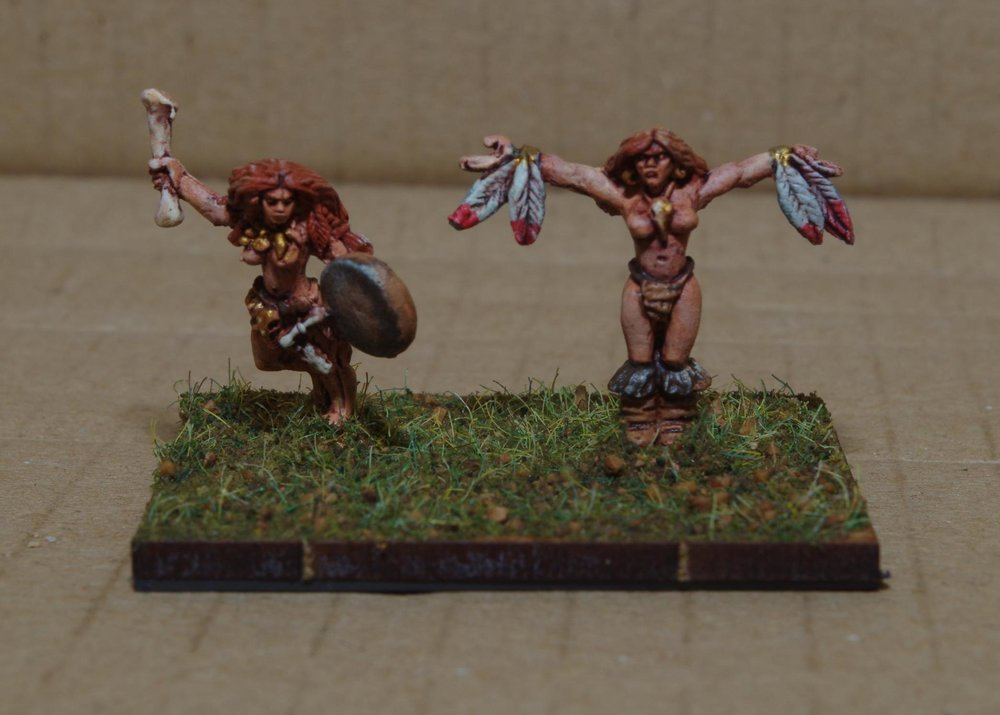 Barbarian Priestesses from Carole