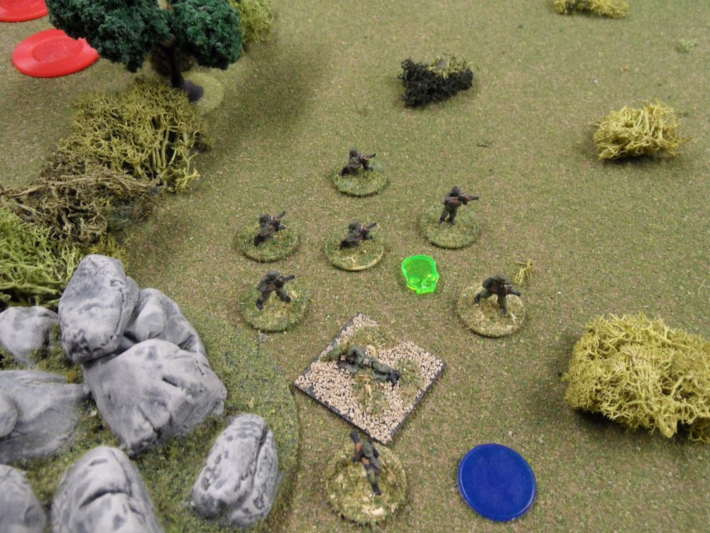 The Government troops begin to lose the fight with the re-manned technical.