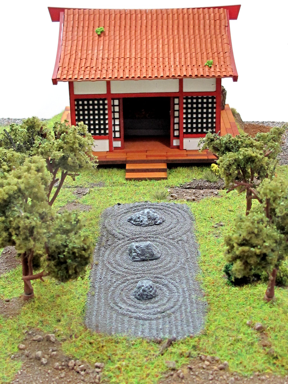 Loving the Zen garden from Andy Duffell