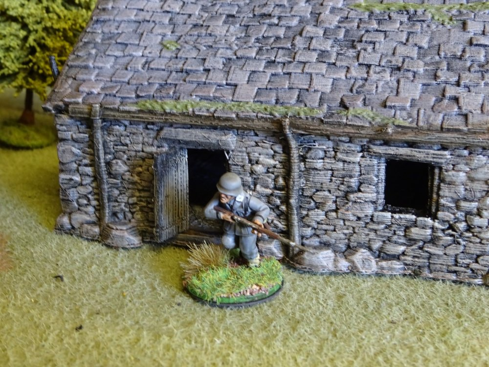 Superb 3D printed stone barn from Treadhead