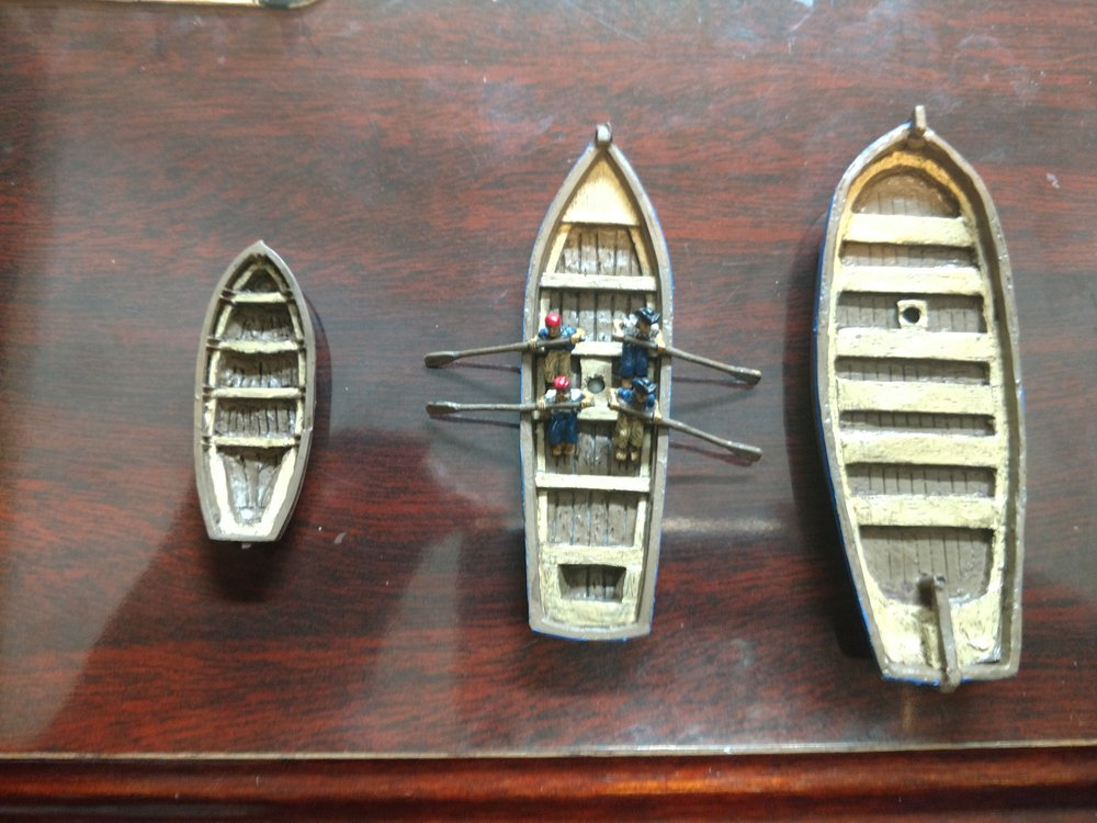 Ship's boats from Chris Stoesen