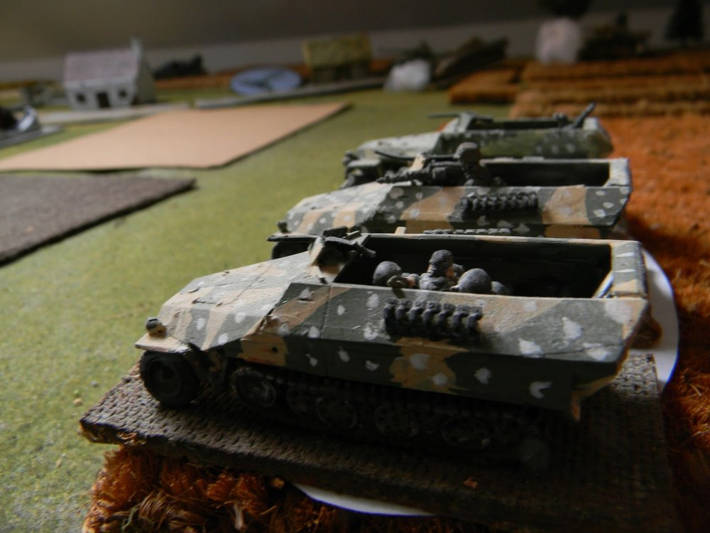 """More half-tracks are """"spotted"""", this time on the left"""