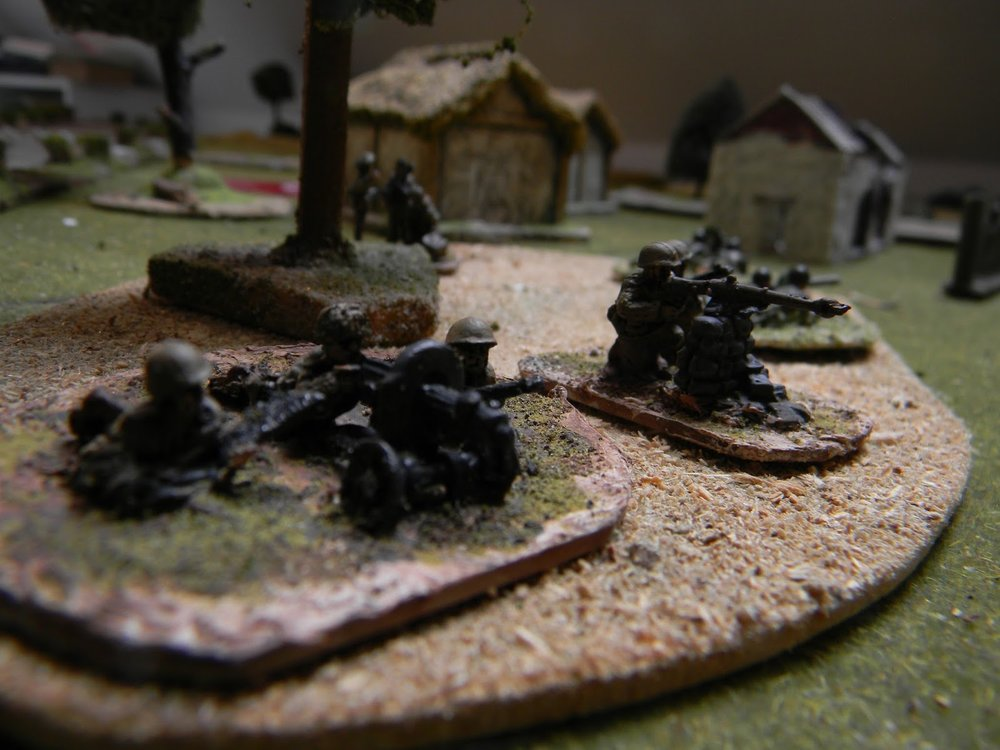 Target the half-tracks approaching them