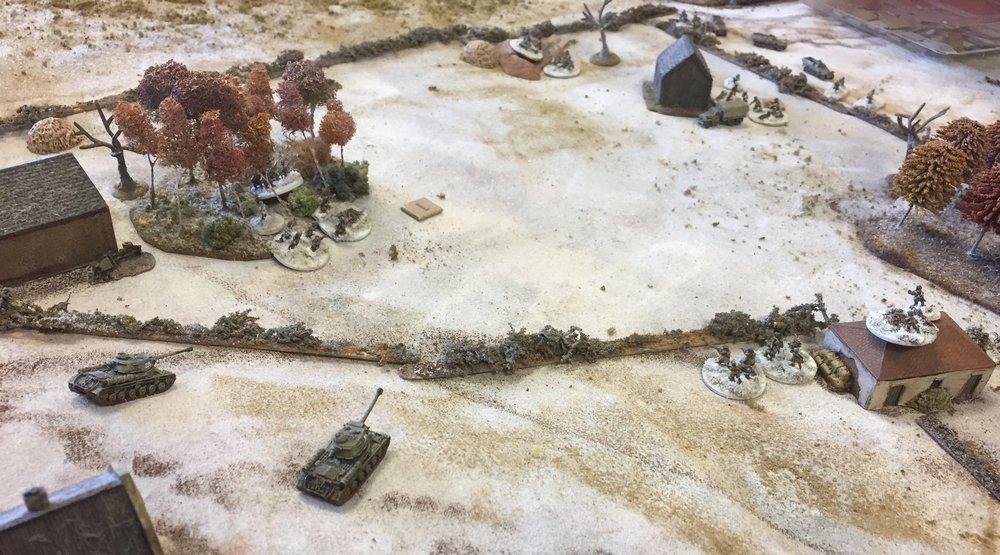 Heavy tanks appear
