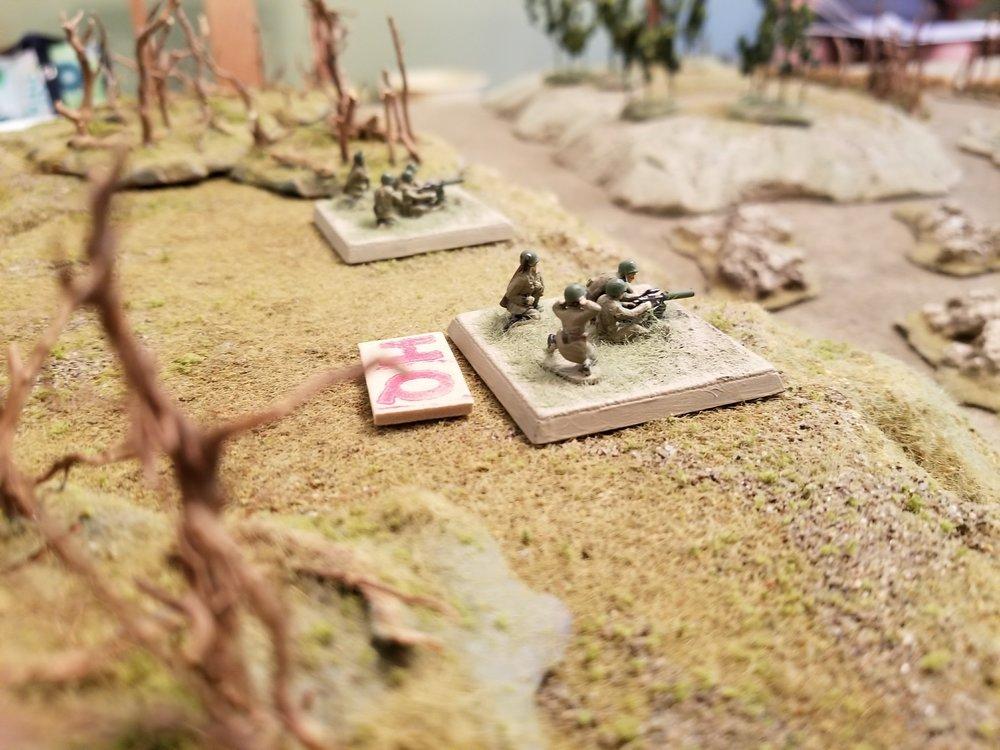 Partisan Machine-Gun Teams Prepare For Action
