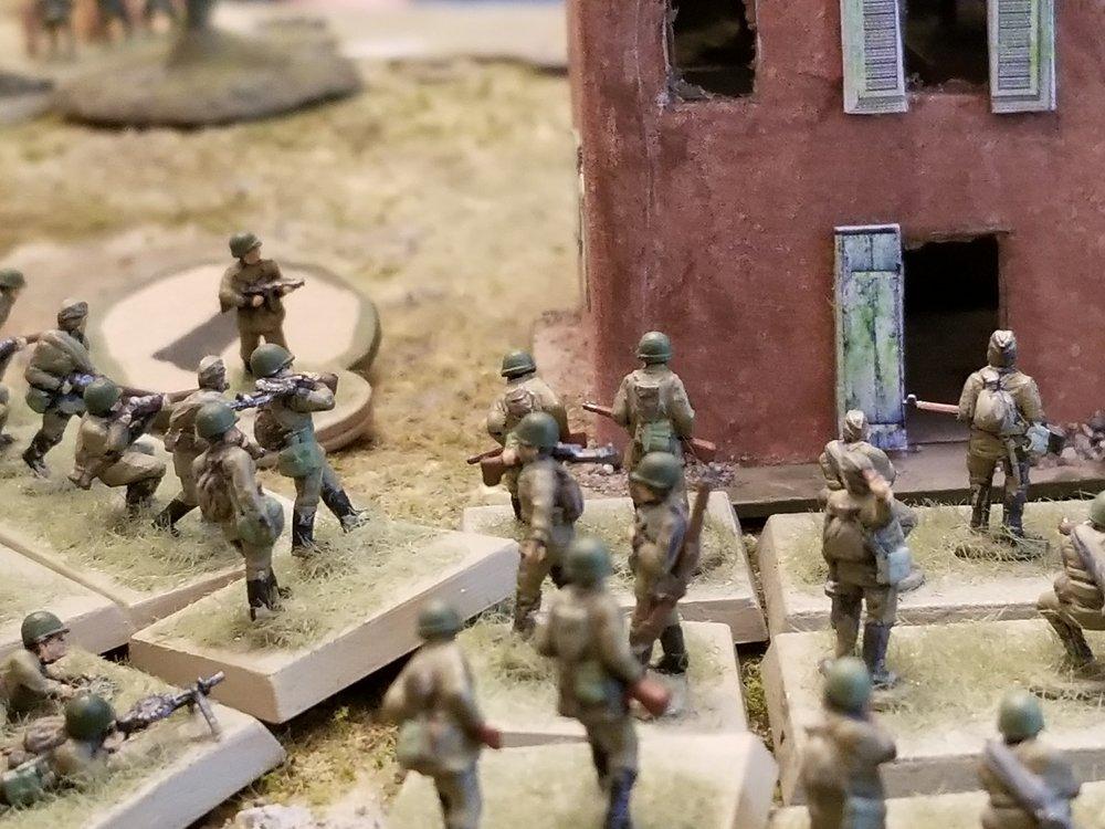 Partisans Swarm The Village