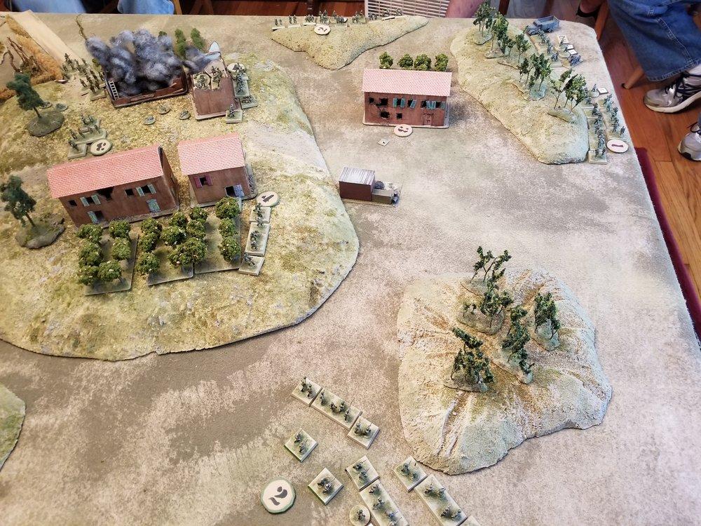 Second Partisan Platoon Probes Forward