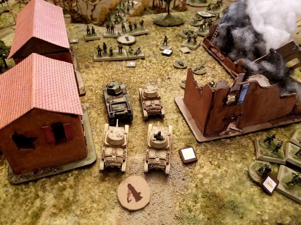 Tanks in the Square!