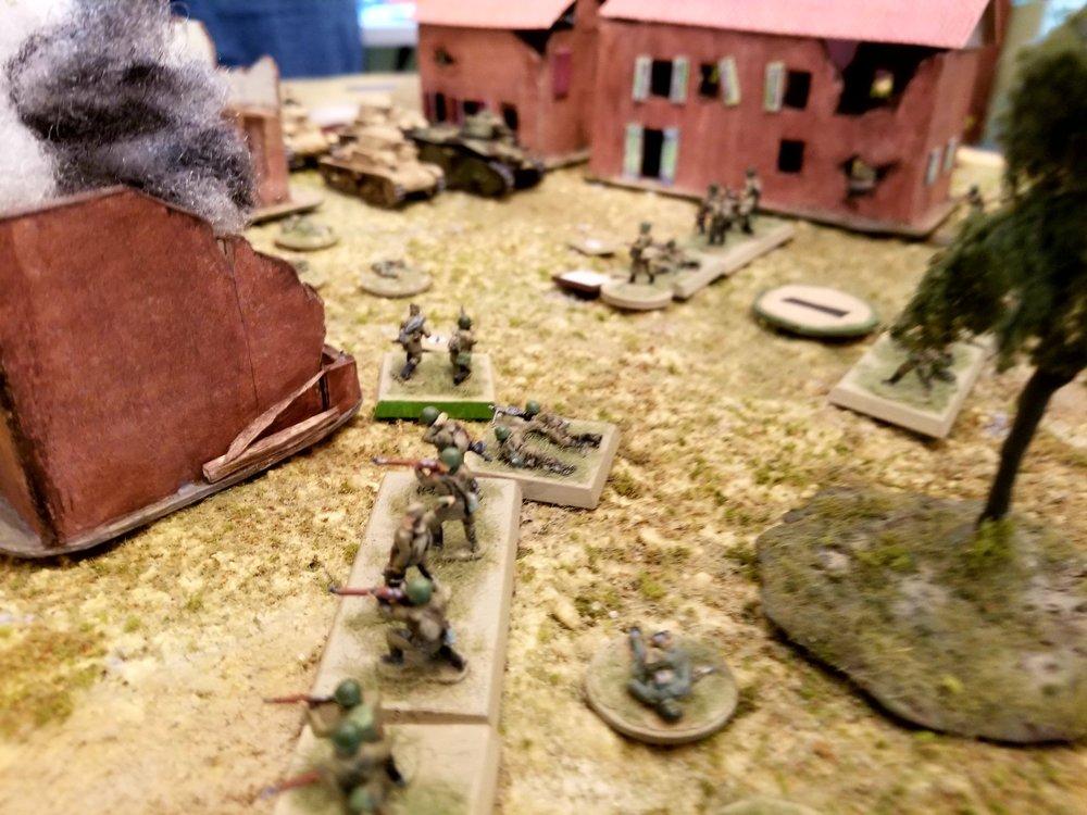 Close Combat in the Square