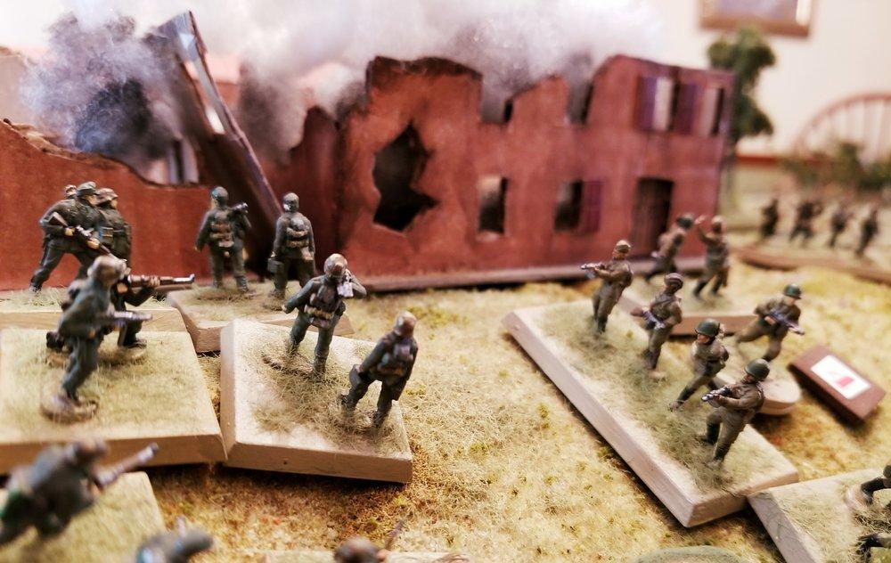 Platoon Three Counter-Attacks