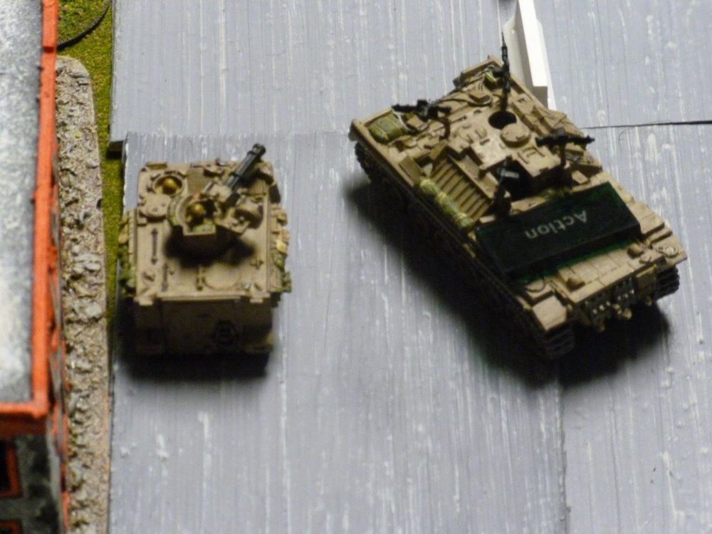 At the same time, the M163 and the Nagmashot engaged the PLO unit that had fired upon the Merkava, with deadly results.