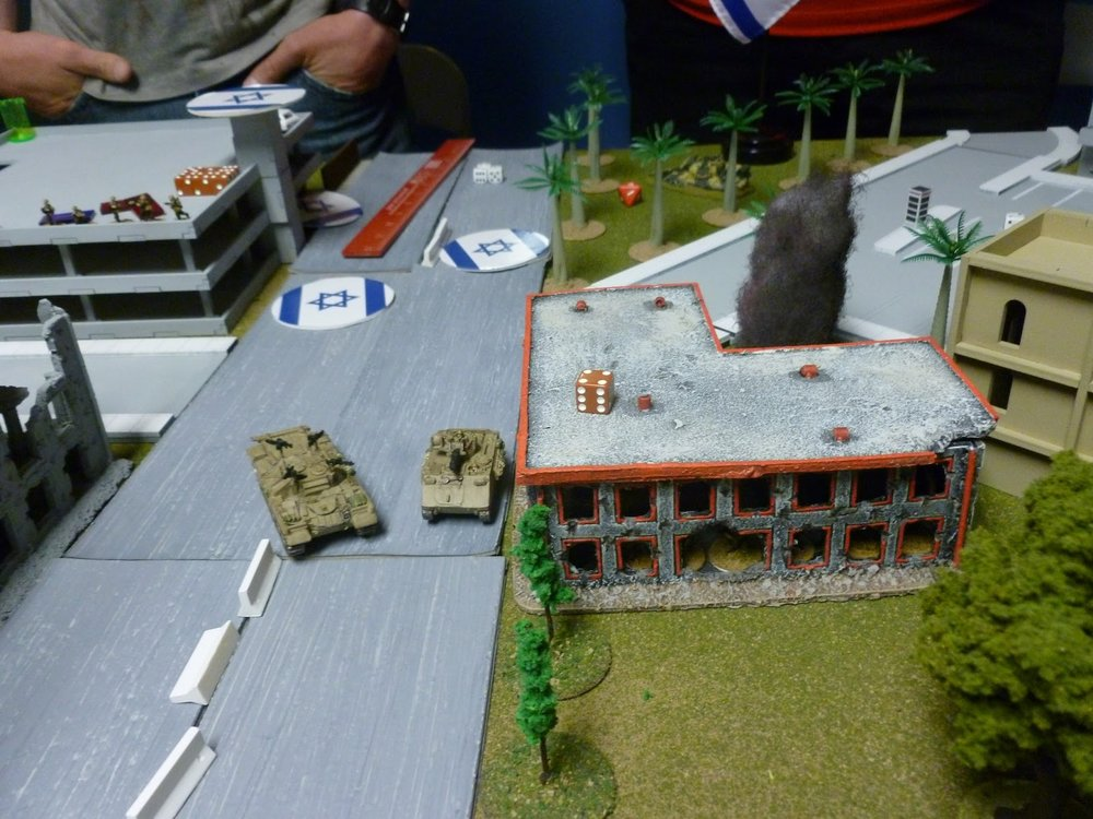 Effectively out of RPG range they were essentially untouchable, particularly as the the PLO mortars couldn't hit, much less hurt, them.