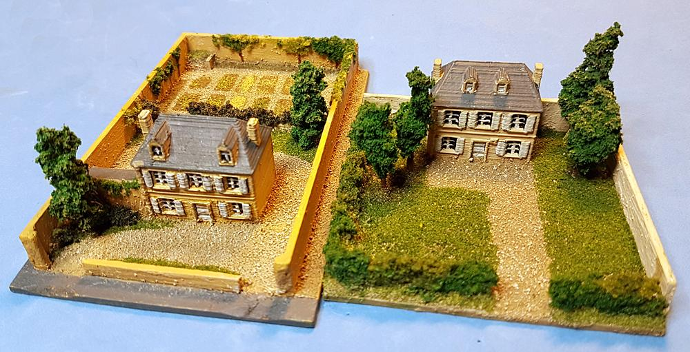 Derek's terrain tiles for 6mm Normandy