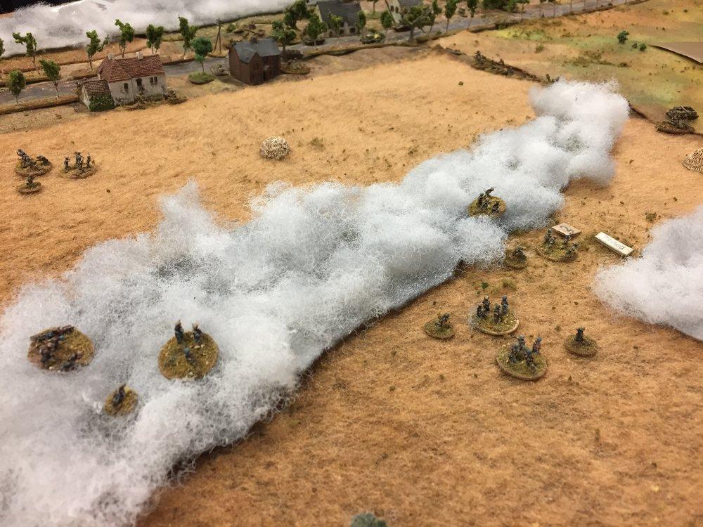 Open Fields are Hard to Cross