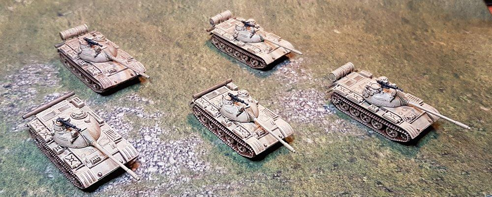 15mm T-55s from Derek Hodge
