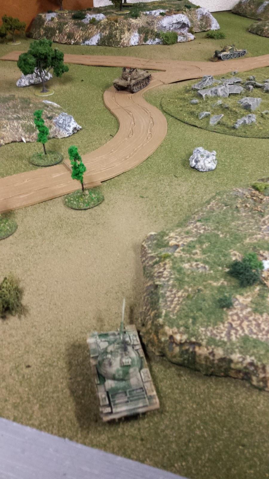 """Between an ATGM team and a T-55! Lietenant Aviv Ackbar: """"Oi, it's a trap!"""""""