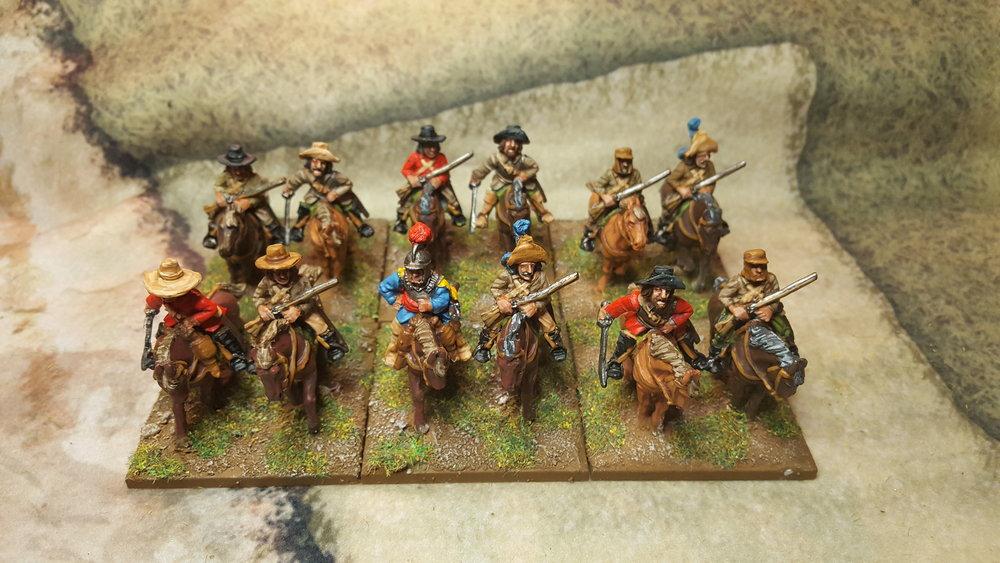 Sapper's ECW Cavalry