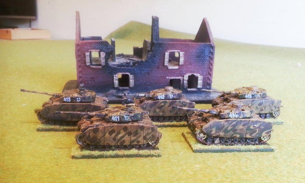 Zug Three (5 x Panther or Panzer IV)