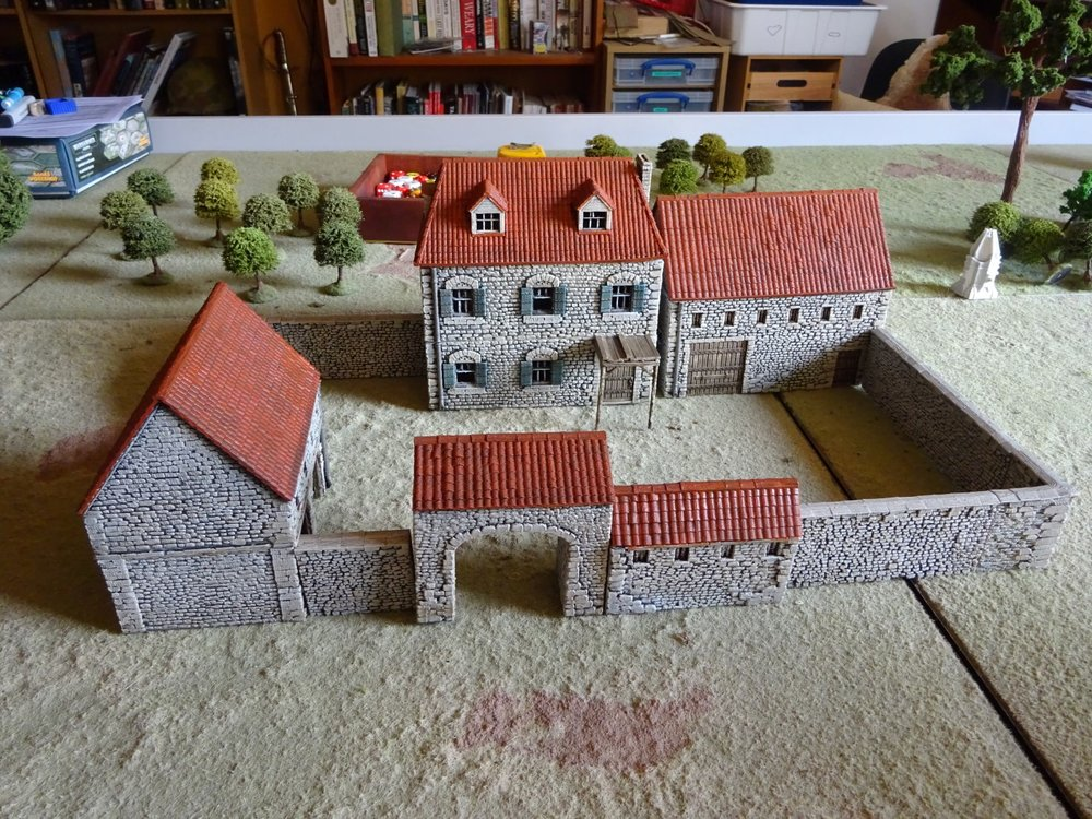 Treadhead's barn: straight off the 3D printer