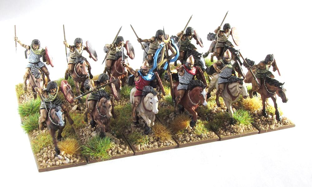 28mm Victrix Numidian cavalry from Mr Lampon