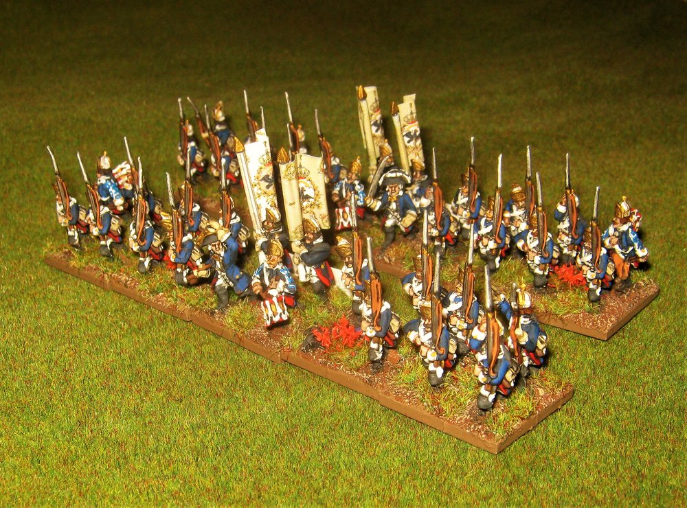 15mm Prussian Fusiliers (36th von Munchow) from Fat Wally (Kev)