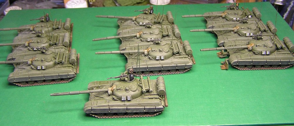 15mm T-64s from Egg