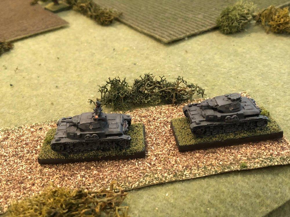 Sgt Graebner and Sgt Kapp's Panzer Mark IVs have arrived!!!