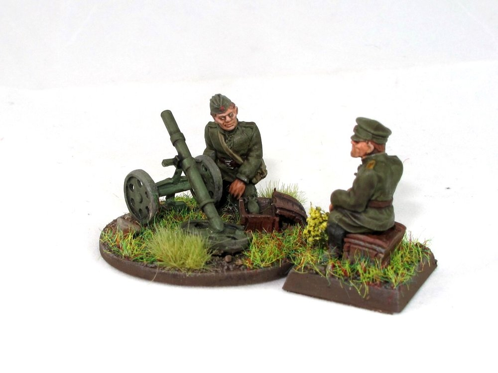 Soviet Mortar Team from Andy Duffell