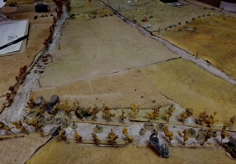 Grenadiers Retreating