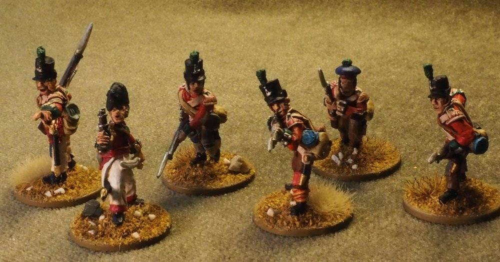And some Brits to fight them from Mr Haines