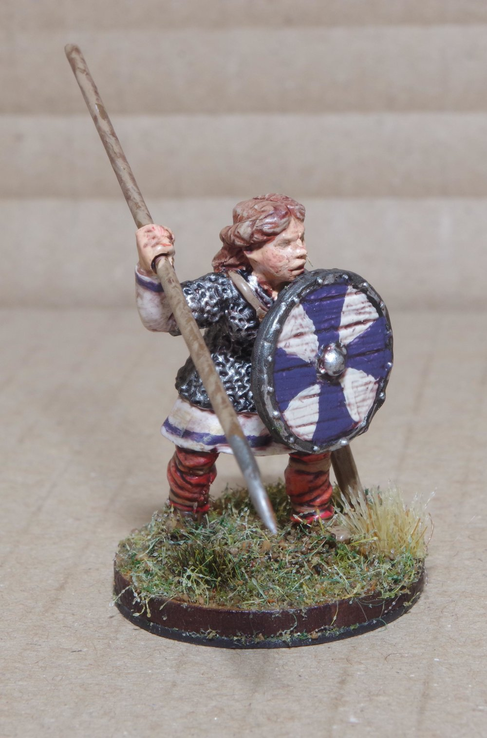 A shieldmaiden from Carole