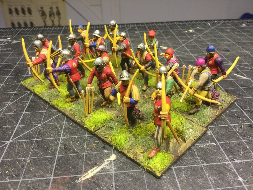 Militia Bowmen from The Hat