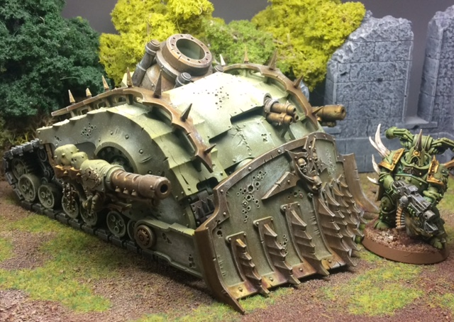 Mr Slade and his Plagueburst Crawler