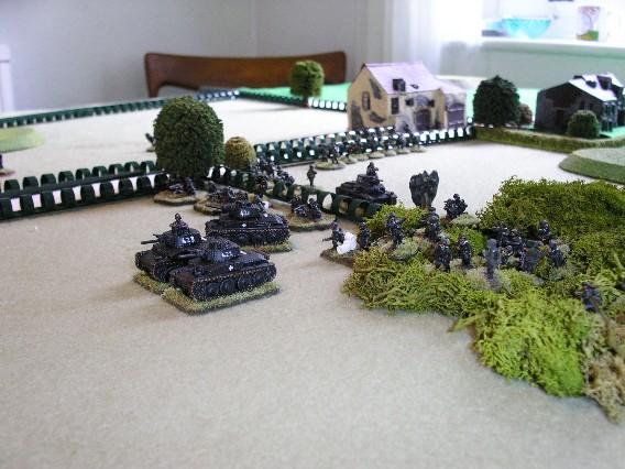 The Germans Advance Again!