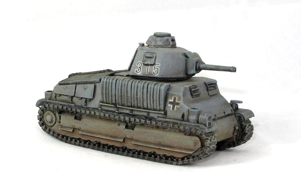Andy Duffell's Somua in 28mm