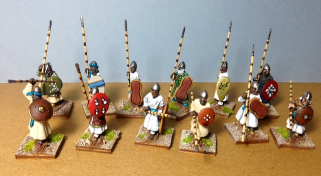 Gripping Beast Sudanese Spearmen from Master Ken