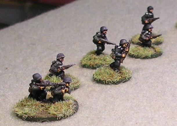 Germans Advancing