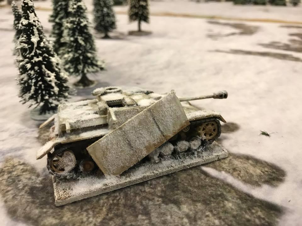 A wreck from a previous battle
