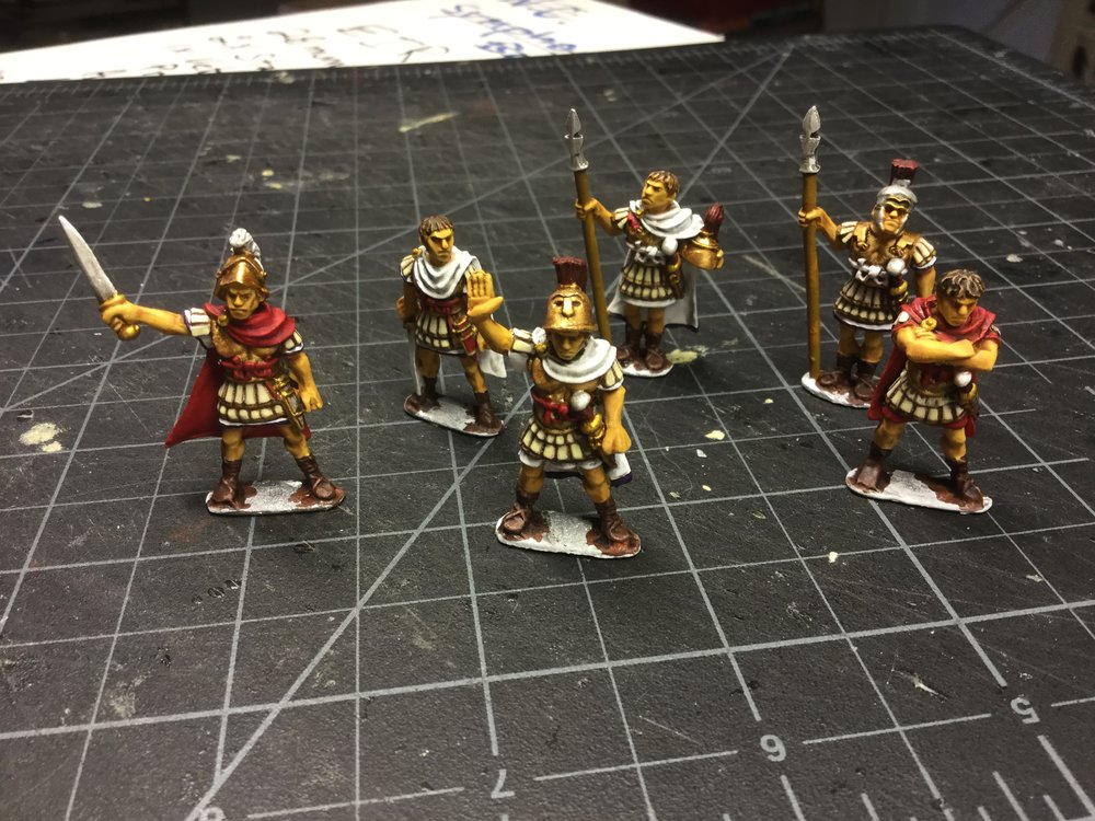 Romans from Lloyd Bowler