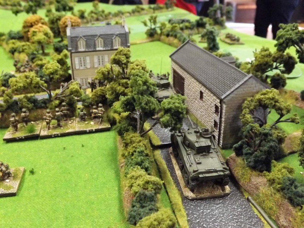 Meanwhile the British advance closes in on Ferme Valle