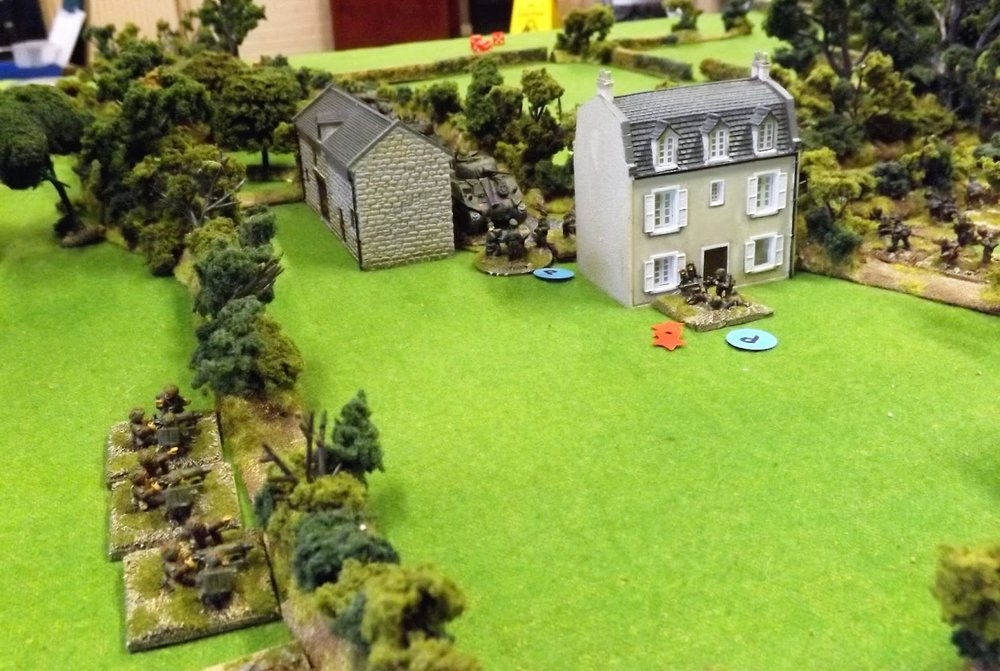 The Battle for Ferme Valle erupts in a hail of Vickers machine-gun fire as German troops are spotted in the vicinity
